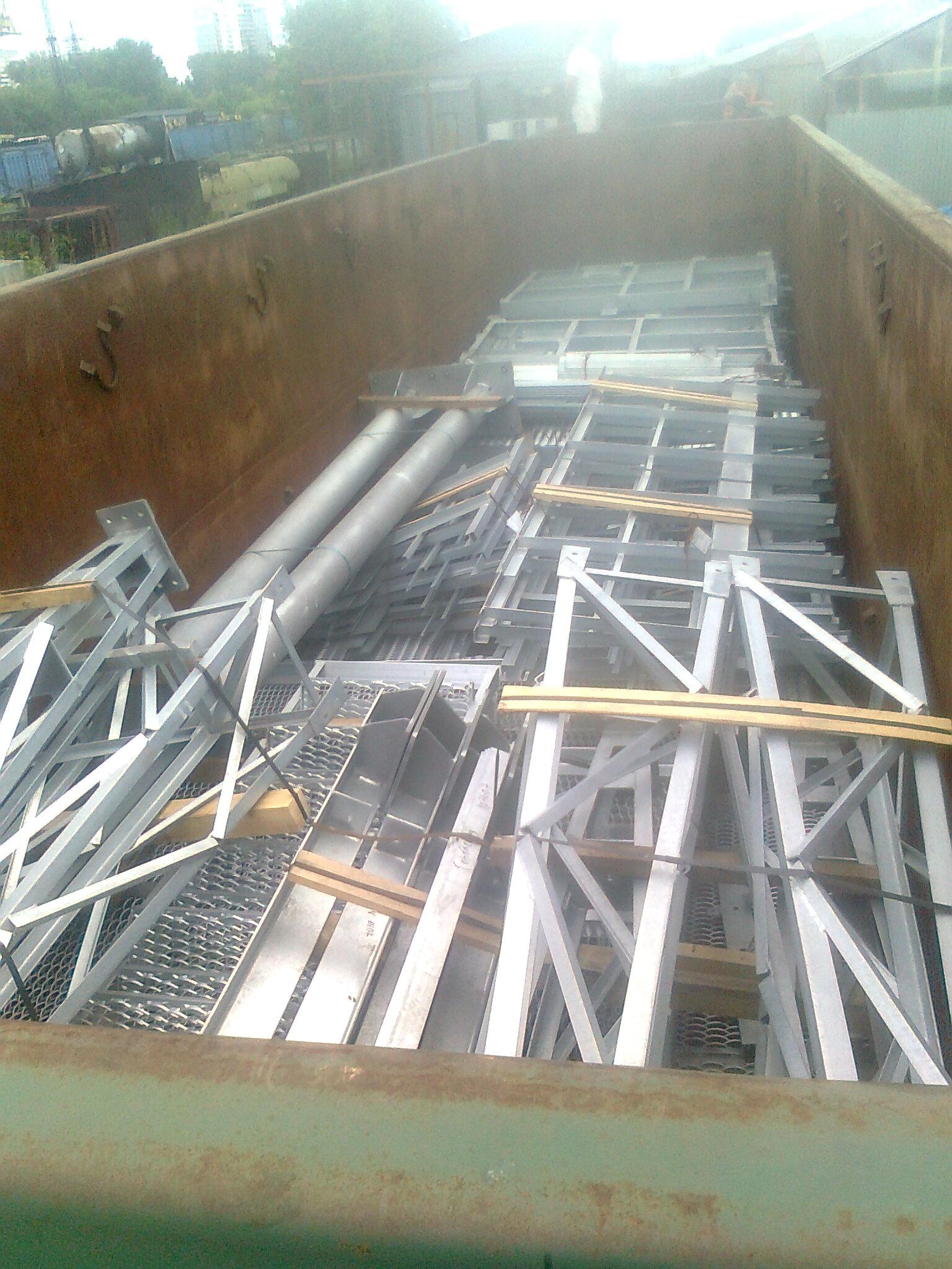Жд перевозки металлоконструкций