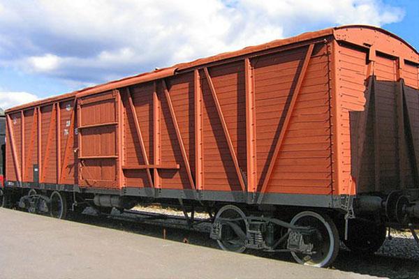 погрузка вагонов, в